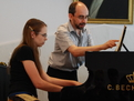 With Maeve Brophy, Summer Music Academy, Kiev 2008
